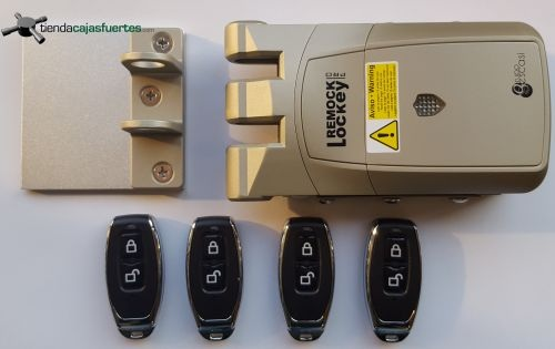 Cerradura remock lockey pro electr nica invisible for Cerradura invisible remock lockey