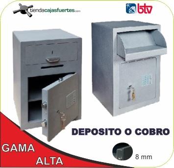Cajas fuertes deposito btv al mejor precio - Caja fuerte btv ...