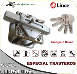 Cerrojo de seguridad for Cerrojo antibumping lince 7930r