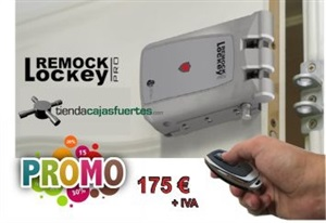 Remock Lockey PRO plata + 4 mandos + Remock Lockey Net