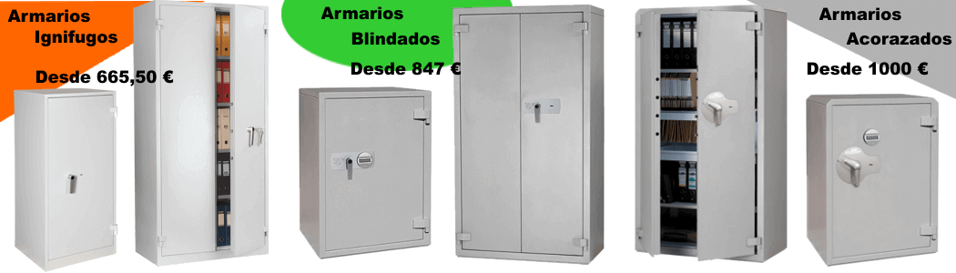 Armario portafusiles 7/plazas fuciliera Blindado de acero con Caja Fuerte utilia