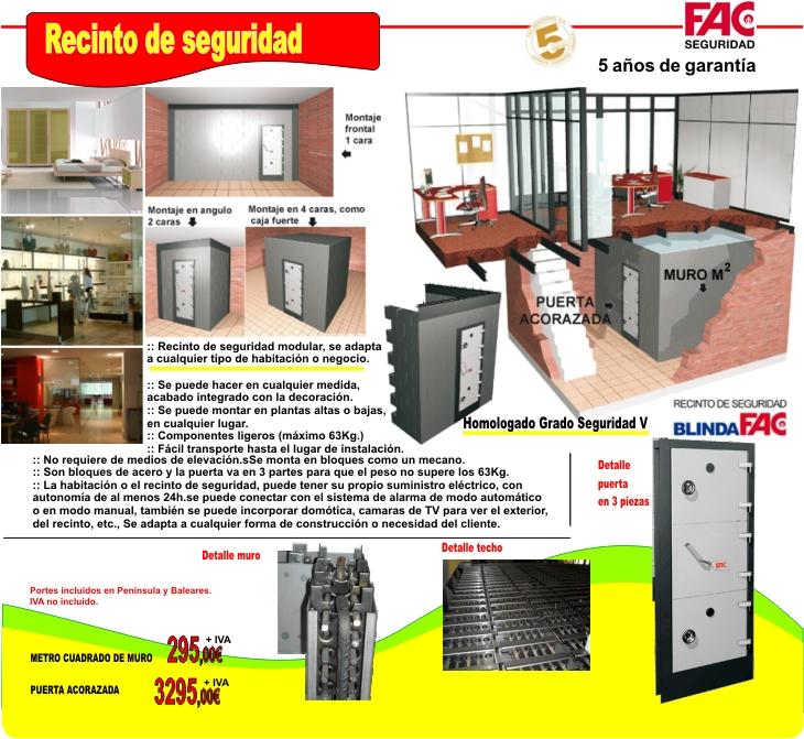 Habitacion antipanico o recinto de seguridad - Materiales para insonorizar una habitacion ...